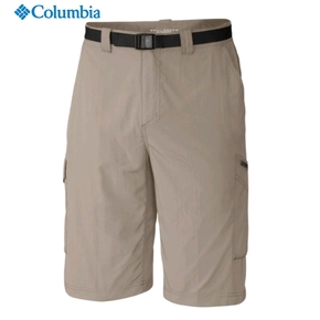 Mens Silver Ridge Cargo Shorts - Fossil / 36""