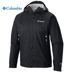 Mens Sleeker Rain Jacket - Black / Medium