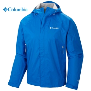 Mens Sleeker Rain Jacket - Hyper Blue / Large