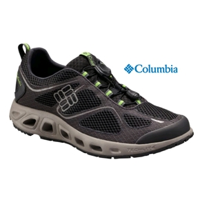 Men's PowerVent Shoe - Black / Nuclear Size US 9