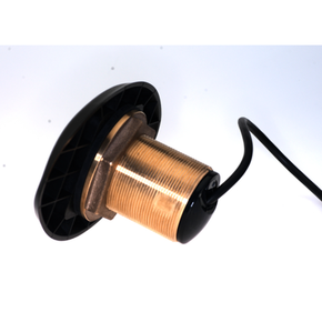 / Simrad Thru Hull Bronze Transducer 50/200/455/800KHZ - 0 Degree tilt