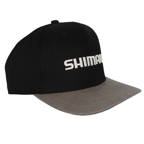 Flat Brim Black Cap - Adjustable Sizes
