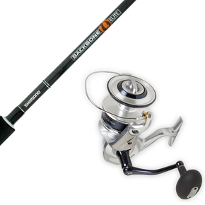"Saragosa 10000 / Backbone 8'2"" Stick Bait Rod/Reel Combo 24-37KG"