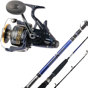 Thunnus 8000 Reel / Shadow X 7ft 6-10kg Spin Rod Combo