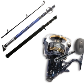 Thunnus 8000 / Shadow X 7' 6-10kg Rod / Reel Combo