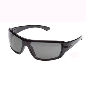 Status Polarised Boating / Fishing Sunglasses - Black with Black Lens