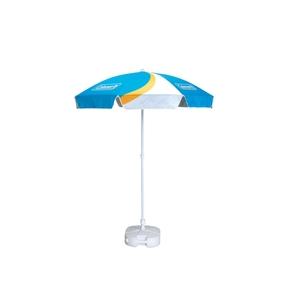 Beach Umbrella with Sand Spike Base