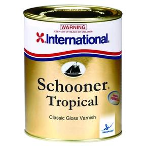 Schooner Tropical Classic Gloss Varnish Single Pack