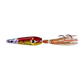 Rock Hopper Sliding Jig Lure 12T / Red Gold 90g