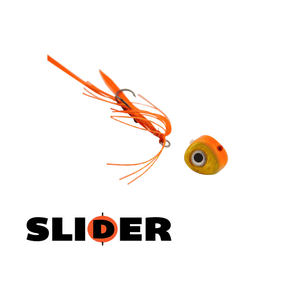 Kabura Slider Jig 80g Orange Gold