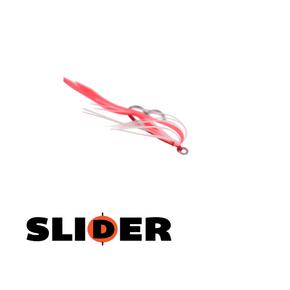 Kabura Slider Jig Assist Rig Pink/Lumo 2-pk