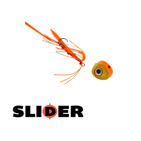 Kabura Slider Jig 100g Orange Gold