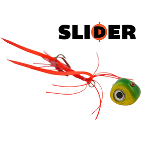 Kabura Slider Jig 100g Candy Apple