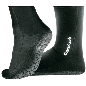 3mm Neoprene Soft Sox Dive Booties - Sz Adult Large (UK10)