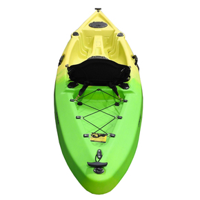 Strike - Single Fishing Kayak 2.96m - Cool Melon with Deluxe Seat & Paddle