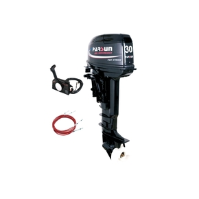 Outboard 30hp Long Shaft - 2 Stroke - Electric Start w/ Remote Controls