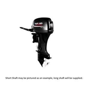 Outboard 40hp Long Shaft - 2 Stroke (with DC Output Leads)