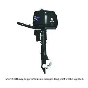 Outboard  6hp Long Shaft - 4 Stroke