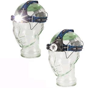 12/240v Rechargable Hi-Power LED Head Light (Head Lamp) - 550 Lumens