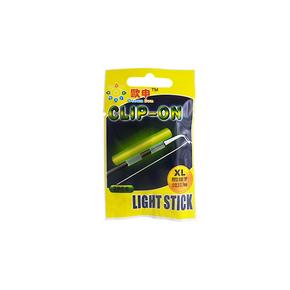 Clip On Rod Tip Light Glow Stick 2-Pk