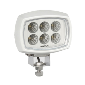 Marine 9-64v / 2000 Lumens LED Flood Lamp - White or Blk