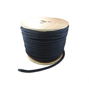 12mm Classic Soild Yacht Racing Braid per metre - Navy