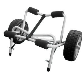 Dual Support Kayak Trolley With Solid Wheels