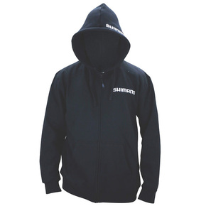 Zipped Hoodie Black- Size Medium (M)