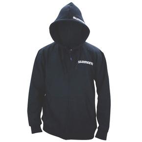 Zipped Hoodie Black- Size Large (L)