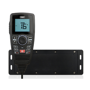GX750B Black Box VHF Marine Radio - Black