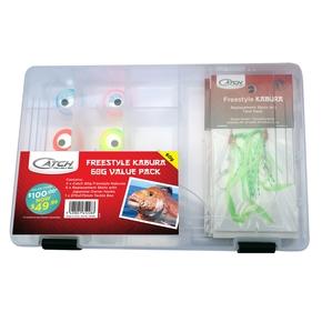 Kabura 60g Value Pack Tackle Box