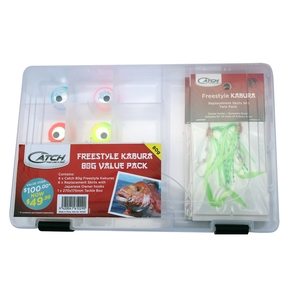 Kabura 80g Value Pack Tackle Box