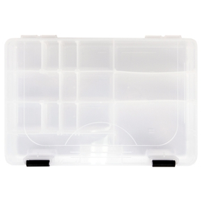 Black Latched Tackle Box - 1 Tray