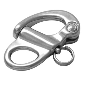 316 SS Fixed Eye Snap Shackle - 66mm