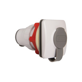MK012 Flush Mount Microphone Socket - White
