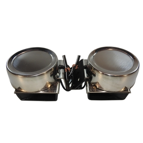 12v SS Twin Compact Horn