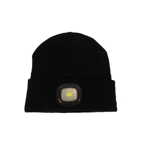 LED Beanie - Black