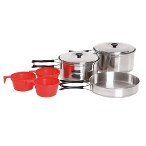 Camping Cookware Set - 6 Pieces