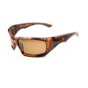 San Juan Premium Floating Polarised Sunglasses - Tortoise/Amber