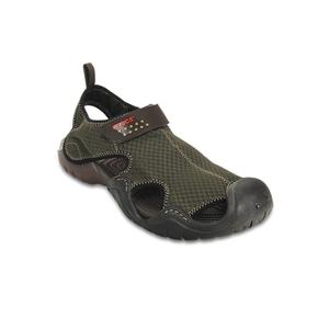 Swiftwater Mens Boat Shoe Sandal ~ Espresso/ Size US 13