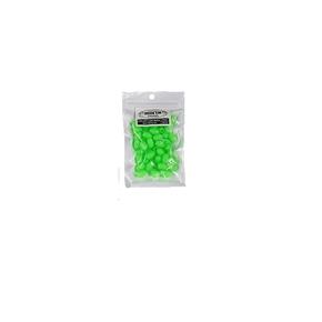 Hard Green Lumo Beads 8mm 100-Pk