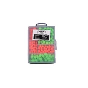 Soft Green/Orange Lumo Beads Assorted 300-Pk