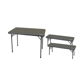Folding Table & Bench 3 Piece set