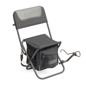 Rhino Fishing Chair Stool w/Rodholder
