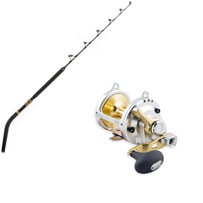 "Talica 50 / Ultra Nano - 24-37kg 5'4"" Dual Butt Game Reel / Rod Combo"