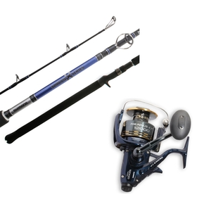 Thunnus 4000 / Shadow x - 7' 5-10kg 2 Piece Spin Reel / Rod Combo