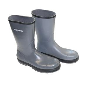 Evair Grey Rubber Boots Size 8
