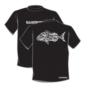 Lure'd Snapper Tee - Black