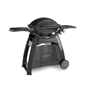 Weber Q3100 NG (Natural Gas) Family Barbeque Grill BBQ w/Cart - Black