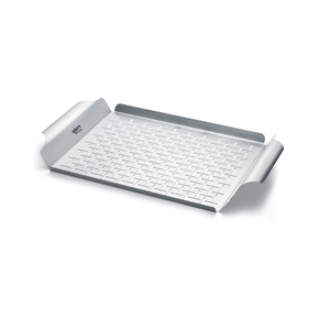 91133 Baby Q Series Stainless Steel Barbecue Grill Pan